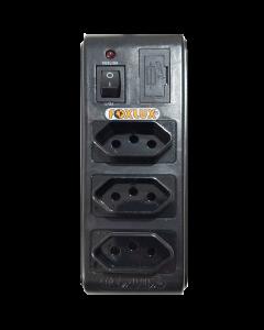 Filtro linha Foxlux Bivolt c/3 saídas