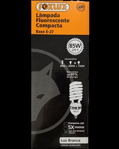 Lâmpada Fluorescente Branca Foxlux 85w