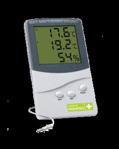 Termohigrômetro Medium - Mede a temperatura e a umidade do ambiente